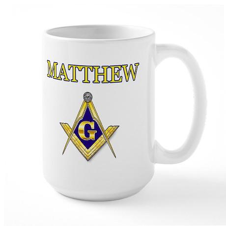 MATTHEW Large Mug