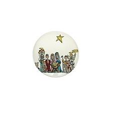 Unique Nativity Mini Button (10 pack)