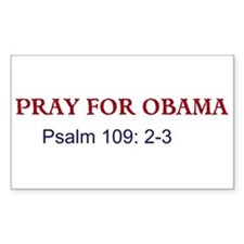 Pray for Obama (Rectangle)