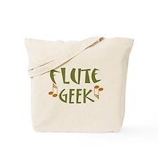 Flute Music Geek Tote Bag