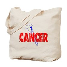 Screw Cancer Tote Bag