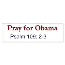 Pray for Obama (Bumper)