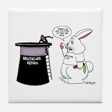Obama's Magic Hat Trick Tile Coaster