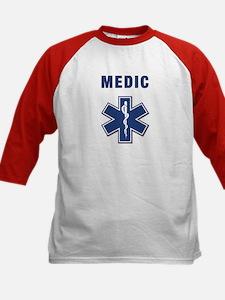 Medic and Paramedic Kids Baseball Jersey