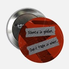 """Duct Tape 2.25"""" Button"""