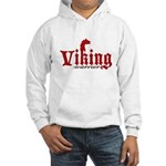 Viking Warrior Hooded Sweatshirt