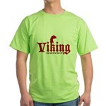 Viking Warrior Green T-Shirt