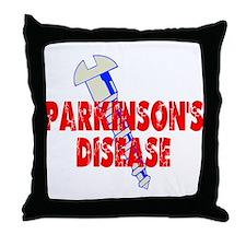 Screw Parkinson's Disease Throw Pillow