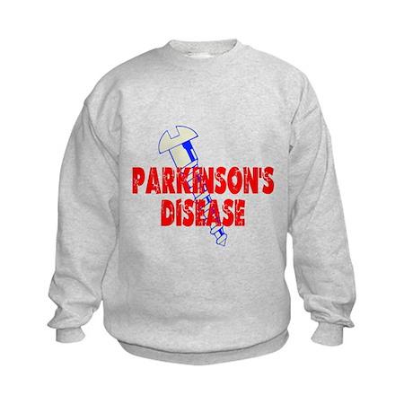 Screw Parkinson's Disease Kids Sweatshirt