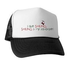 i like smiling Trucker Hat