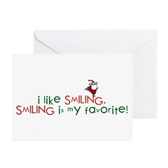 i like smiling Greeting Cards (Pk of 10)
