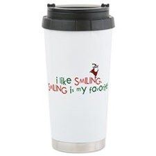 i like smiling Stainless Steel Travel Mug
