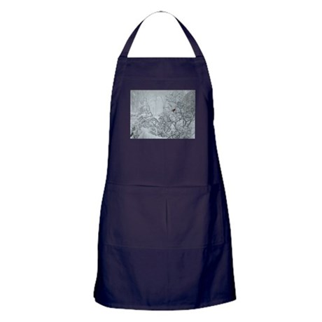 Winter Wonderland Apron (dark)
