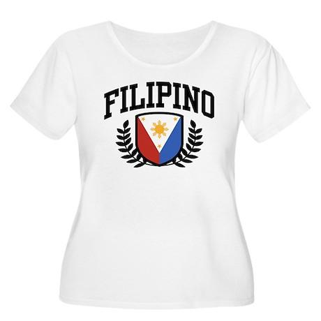 Filipino Women's Plus Size Scoop Neck T-Shirt