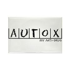 AutoX Anti-Drug Rectangle Magnet (10 pack)