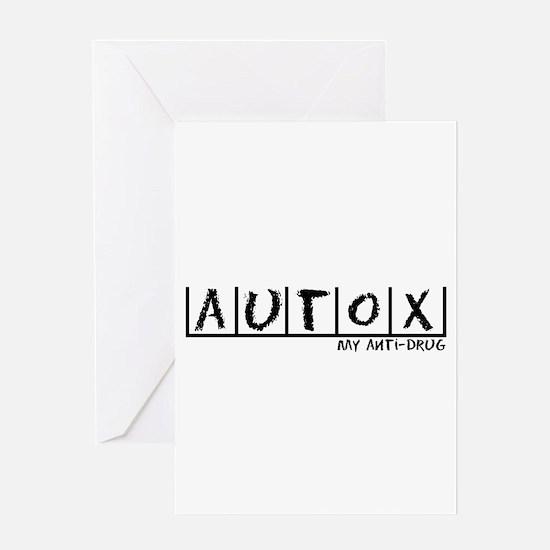 AutoX Anti-Drug Greeting Card