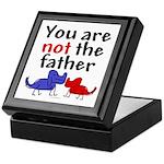Not father (dogs) Keepsake Box