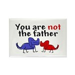 Not father (dogs) Rectangle Magnet (100 pack)
