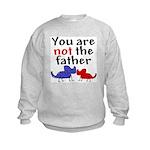 Not father (dogs) Kids Sweatshirt