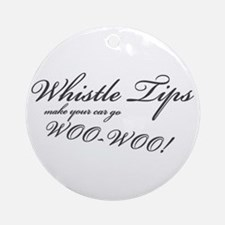 Whistle Tips Ornament (Round)