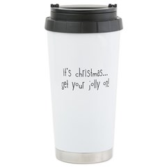 jolly on! Stainless Steel Travel Mug