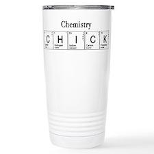 Chemistry Chick Travel Coffee Mug