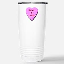 Boys R Dumb Travel Mug