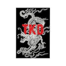 White Dragon TKD Magnet