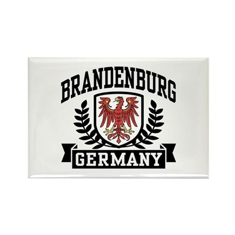 Brandenburg Coat of Arms Rectangle Magnet