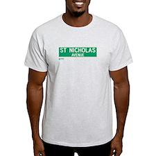 St. Nicholas Avenue in NY T-Shirt