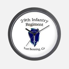29th Infantry Regiment Wall Clock