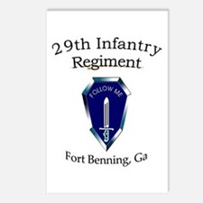29th Infantry Regiment Postcards (Package of 8)