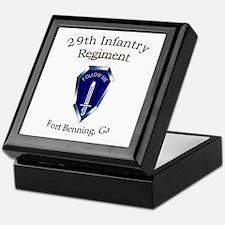 29th Infantry Regiment Keepsake Box