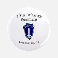 "29th Infantry Regiment 3.5"" Button"
