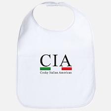 CIA - Cocky Italian American Bib