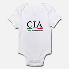 CIA - Cocky Italian American Infant Bodysuit