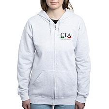 CIA - Cocky Italian American Zip Hoodie