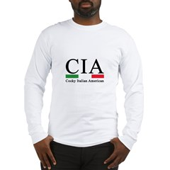 CIA - Cocky Italian American Long Sleeve T-Shirt