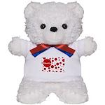 Valentine dots Teddy Bear