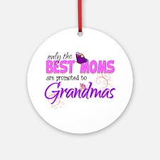 Grandma Promotion Ornament (Round)