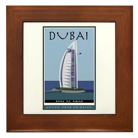Dubai Framed Tile