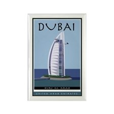 Dubai Rectangle Magnet