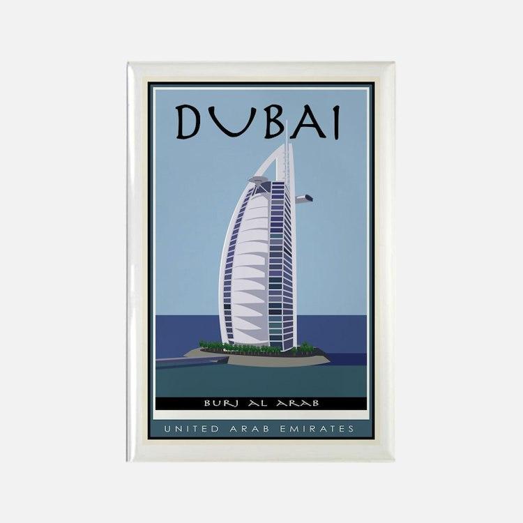 Dubai Rectangle Magnet