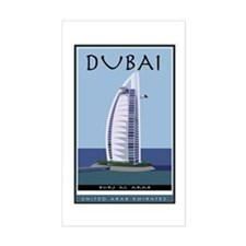 Dubai Rectangle Decal
