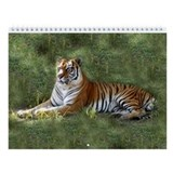 Big cat rescue tiger Wall Calendars