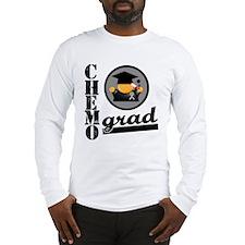 Chemo Grad Brain Cancer Long Sleeve T-Shirt