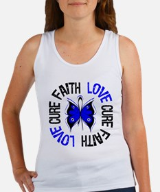Colon Cancer Faith Women's Tank Top