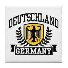 Deutschland Tile Coaster