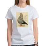 Tumbler Pigeon: Black Splash Women's T-Shirt