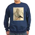 Tumbler Pigeon: Black Splash Sweatshirt (dark)